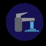 bathroom faucet, lavatory faucet, faucet, faucet handle, faucet cartridge, faucet washer, faucet seat, faucet stem